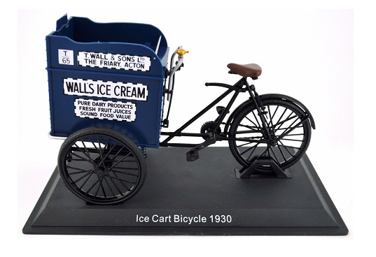 Model kola Ice Cart Bicycle 1930