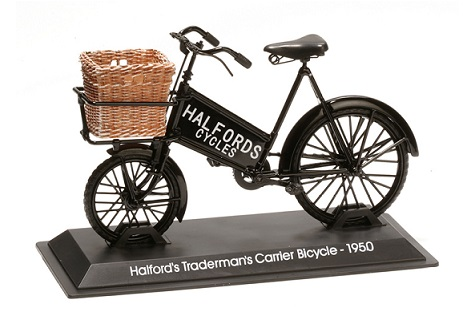 Model kola Halfords Tradermans Carrier Bicycle 1950
