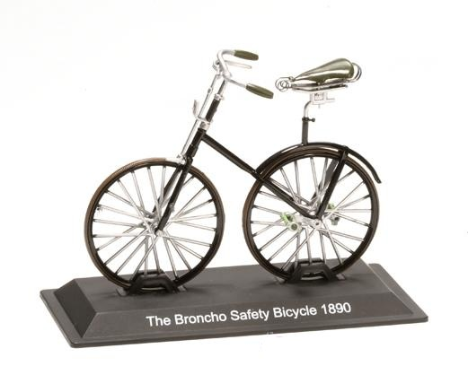 Model kola The Broncho Safety Bicycle 1890