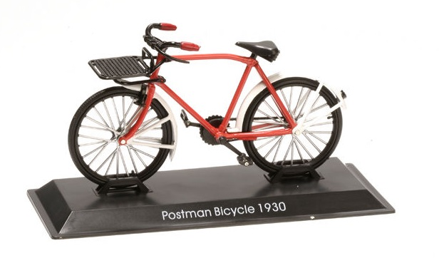 Model kola Postman Bicycle 1930
