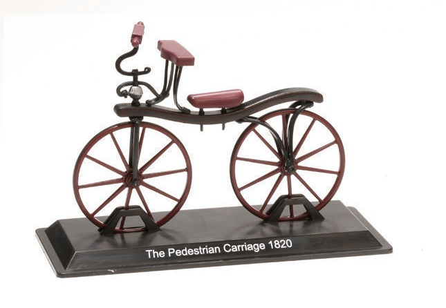 Model kola The Pedestrian Carriage 1820