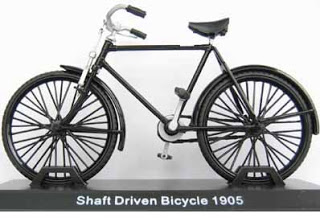 Model kola Shaft Driven Bicycle 1905