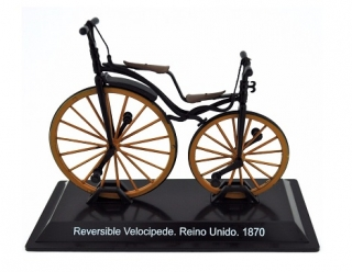 Model kola Reversible Velocipede Reino Unido 1870