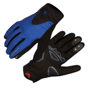 Rukavice Endura Windchill, modré