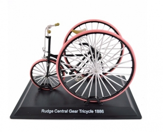 Model kola Rudge Central Gear Tricycle 1886