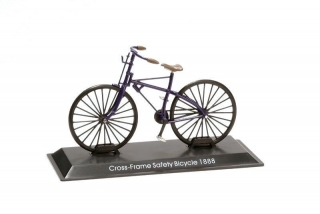Model kola Cross Frame Safety Bicycle 1888