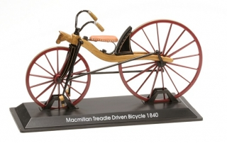 Model kola Macmillan Treadle Driven Bicycle 1840